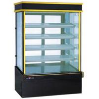 Wholesale Compact Design Food Fridge Display Units Glass Countertop Bakery Display Case from china suppliers