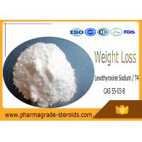 Wholesale CAS 55-03-8 Pharmaceutical Raw Materials Levothyroxine Sodium T4 for Weight Loss from china suppliers