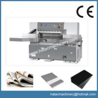 Wholesale Automatic Sheet-to-sheet Paper Cutting Machine,Leather Slitting Machinery from china suppliers