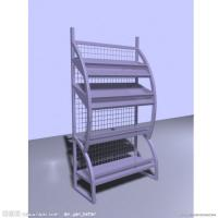 Wholesale Four Tier Magazine / Brochure Display Stands Metal Wire Display Racks from china suppliers