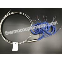 Quality AISI 304 Sheath Type J Multipoint Mineral Insulated Thermocouple Wire Ungrounded for sale