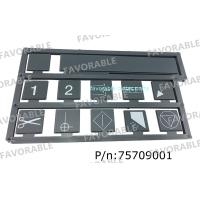 Wholesale Storm Interface Keyboard Silkscreen 700 Series Especially Suitable For Gerber Cutter Gtxl 75709001 from china suppliers