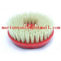 Wholesale Diam.110/130 mm snail lock diamond brush for grinding stone from china suppliers