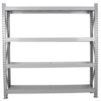 Wholesale Standard Model Four Level Medium Duty  Shelving Rack from china suppliers