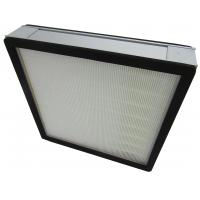 Wholesale High Efficiency Aluminum Frame Hepa Air Filters Clean Room Air System Pleated Panel from china suppliers