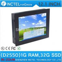 Wholesale 12.1 Inch All-IN-One Desktop touchscreen LED Panel PC with Intel Dual Core D2550 1.86Ghz 1G RAM 32G SSD from china suppliers