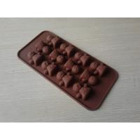 Wholesale Novelty Flexible Non-stick Silicone Chocolate Mould 12Holes For Microwave Oven from china suppliers
