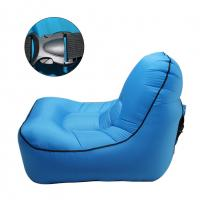 Wholesale blue inflatable modern design furniture living room relaxing round sofa chair single sofa chair from china suppliers