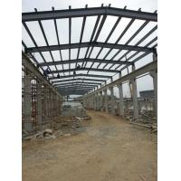 Wholesale Industrial Structural Steel Plant , Professional Fabrication Steel Structure from china suppliers