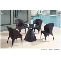 Wholesale modern pe rattan boite table chair outdoor furniture set from china suppliers
