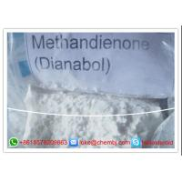 Wholesale White Steroid Raw Powder Methandienone Dianabol   72-63-9 from china suppliers