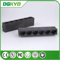 Wholesale Factory price unshielded 6 ports rj45 connector, without transformer from china suppliers