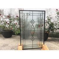 Wholesale Contemporary Collection Solid Flat  Decorative Tempered Glass Windows from china suppliers