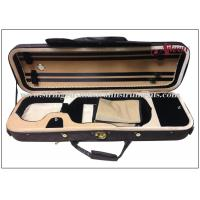 Wholesale Oblong Foamed Lightweight Violin Case With Water Prooffabric Exterior ISO9001 from china suppliers