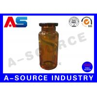 Wholesale Amber Brown Glass Pharmaceutical Industrial 10ml  Dropper Bottles Ayonet Mouth / Dropper from china suppliers