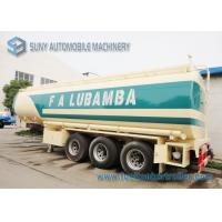 Wholesale Customized Mechanical Semi Tractor Trailer , 42000 Liters Chemical Tank trailer from china suppliers