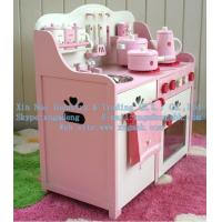 Wholesale Wooden kitchen toys, wooden simulation kitchen, wooden package Kitchen Toys from china suppliers