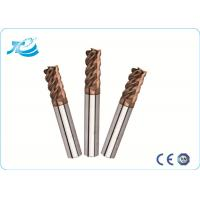 Wholesale 60 Degree Hardness Tungsten Steel Square End Mill With 1mm - 25 mm Diameter from china suppliers