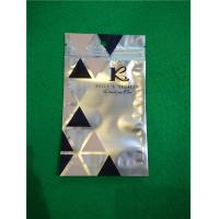 Wholesale Al Foil Bottom Sealed Plastic Ziplock Bags , Makeup Powder Puff Packing Bags from china suppliers
