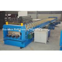 Wholesale Color Steel Plate Floor Deck Roof Panel Roll Forming Machine 1500mm PLC Control from china suppliers