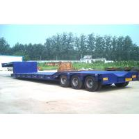 Wholesale 80 Tons Gooseneck Low Bed Semi Trailer For Construction High Performance from china suppliers