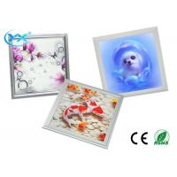 Wholesale Aluminum And PC LED 3D LED Panel With 120° Beam Angle CE RoHS ETL from china suppliers