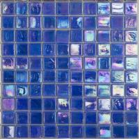 Wholesale 300x300MM Glass Mosaic Tiles For Swimming Pool , Bathroom from china suppliers