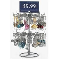 Wholesale Turnable Keychain Counter Display Racks / Retail Hanging Display Racks from china suppliers