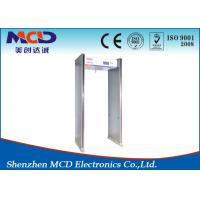 Wholesale Archway Muti Zone Walk Through Gate , MCD-600 lightweight metal detectors CE and ISO from china suppliers