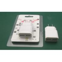 Wholesale dual USB Travel Charger 5V 3.1A with CE, Rohs, FCC certificates from china suppliers
