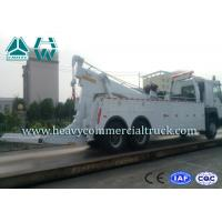 Quality SINOTRUK 20 Tons Heavy Duty Tow Truck Wrecker , Road Recovery Vehicle for sale