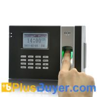 Wholesale Fingerprint Time Attendance Device + Door Lock (Black) from china suppliers