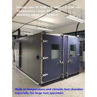 Quality High Reliability Temperature And Humidity Walk-In Chamber For Large Test Specimens for sale