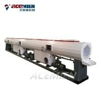 China PVC UPVC CPVC Plastic Pipe Extrusion Line Conical Double Screw Auto Loader on sale