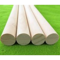 Wholesale Natural 35 mm Wooden Dowel Rods , Unfinished Pine Wood Dowels from china suppliers
