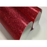 Wholesale Shine Glitter Sand Double Sided Glitter Paper 300g White Cardboard Material from china suppliers