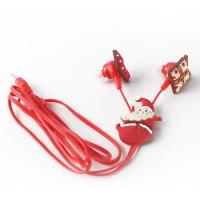 Selling pvc,silicone rubber material high quality mp3 ear earphone promotional gifts