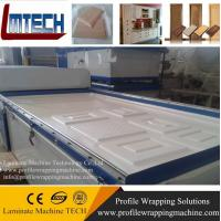 Wholesale cabinet decorative panels vacuum membrane press machine with good price from china suppliers
