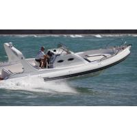 Buy cheap 9.6m Orca Hypalon Inflatable Rib Boat Rib960B  With Cabin Console / Large Sunbed from wholesalers