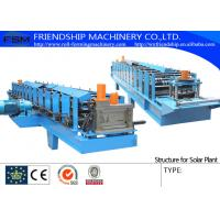 Wholesale 2.5mm Galvanized Steel Coil Rack Roll Forming Equipment With Chain Driven from china suppliers