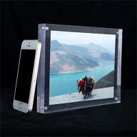 Buy cheap Christmas gift new style acrylic magnetic photo frame from wholesalers