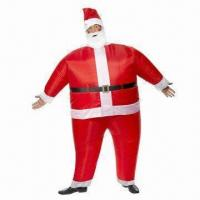 Wholesale PVC Inflatable suit, may put on directly on the body, OEM orders welcomed from china suppliers