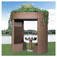 Wholesale China leisure furniture outdoor pavilion garden rattan tents 1109 from china suppliers