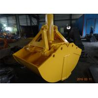 Wholesale One Cylinder Clamshell Bucket , Komatsu PC360 Telescopic Boom Grapple Bucket from china suppliers
