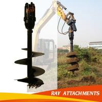 Wholesale KA6000 Digging Hole Machine hydraulic earth drill For Excavator Used from china suppliers