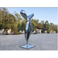 Wholesale Modern Mirror Stainless Steel Sculpture Abstract Garden Sculpture Public Decoration from china suppliers