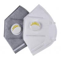 Wholesale Dust Resistant Valved Face Mask , N95 Particulate Respirator Mask from china suppliers