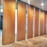 Wholesale Aluminum Sliding Movable Partition Wall For Restaurant 85 mm Thickness from china suppliers