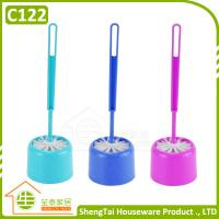 Wholesale Round Head Plastic Toilet Brush With Holder from china suppliers
