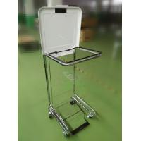 Wholesale LY-FS/Higt Quality Square Tilt-Lid Chrome Hamper/medical hamper stand from china suppliers